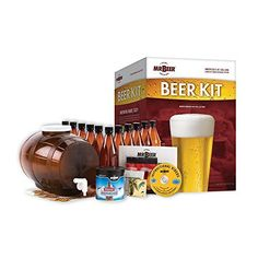 Buy the popular Mr Beer North American Collection Beer Home Brewing Kit here at Beer Lovers. Beer Brewing Kits, Brewing Recipes, Homebrew Recipes, Beer Recipes, Home Brewing, Make Beer At Home, How To Make Beer, Beer Making Kits, Wine Making