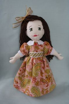 Rag doll from Marie Claude Roch