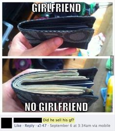 Girlfriend! No girlfriend!