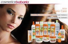 NOU! Linia HAIR CARE Babaria Îngrijirea după care părul tău tânjește. Keratina, Ginseng şi Jojoba pentru un păr mai puternic și mai sănătos! www.CosmeticeBabaria.ro