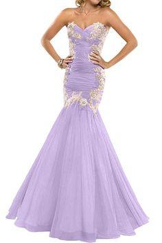 Victory Bridal 2016 Neu Herzfoermig Meerjungfrau Lang Promkleider Abendkleider Ballkleider mit Stickreien-34 Rosa