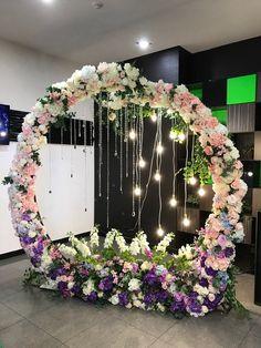 Wedding Backdrop Design, Wedding Hall Decorations, Wedding Stage Design, Engagement Decorations, Backdrop Decorations, Backdrops, Decoration Evenementielle, Marriage Decoration, Luxury Wedding Decor