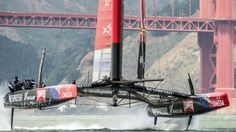 """""""Training 4"""" - Chris Cameron - America's Cup and sailing pictures for home decoration - Limited edition"""
