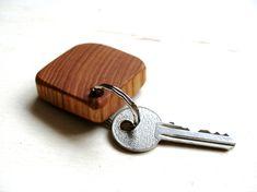 natural wood keyring - Google Search