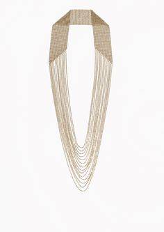 & Other Stories image 1 of Draped Chain Necklace  in Gold