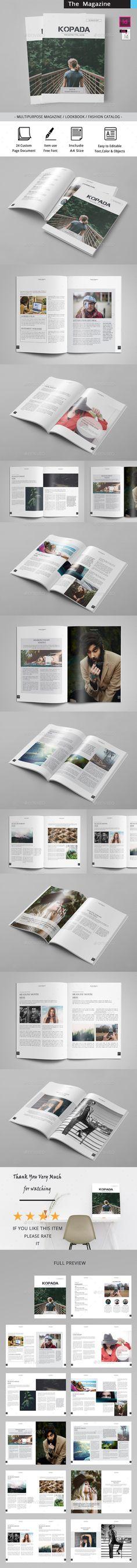 The Magazine - Magazines Print Templates Download here : https://graphicriver.net/item/the-magazine/19523501?s_rank=60&ref=Al-fatih