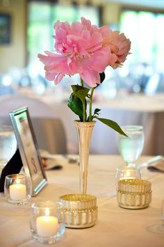 These pink peonies look fabuous in the antique silver bud vase. A very vintage look! Cheap Wedding Flowers, Wedding Flower Decorations, Peony Flower, Flower Vases, Peonies Wedding Centerpieces, Coral Peonies, Bud Vases, Antique Silver, Fries