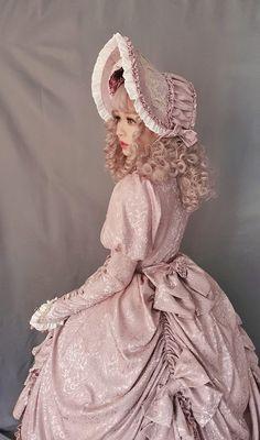 My-Lolita-Dress Official — Court OP Vintage Lolita Dress Custom. Harajuku Fashion, Kawaii Fashion, Cute Fashion, Fashion Outfits, Rock Fashion, Pretty Outfits, Pretty Dresses, Cute Outfits, Emo Outfits