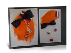 Licorice All Sort Fascinator  If you wish to purchase any of my items please go to my facebook webpage:  https://www.facebook.com/pages/EXclusive-You/395447263845548