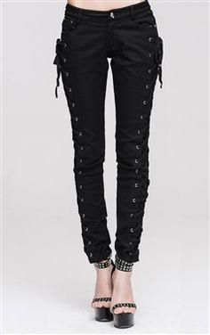 Devil Fashion Gothic Pyretta Trousers