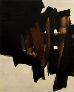 artchipel:  Pierre Soulages - Peinture, 200x162cm, 14 mars 1960