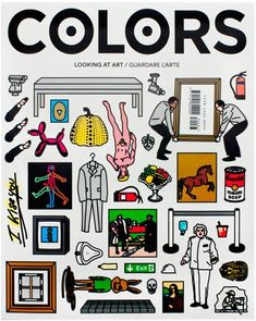 #magazinecover COLORS 87: Looking at Art – So you want to be an artist?