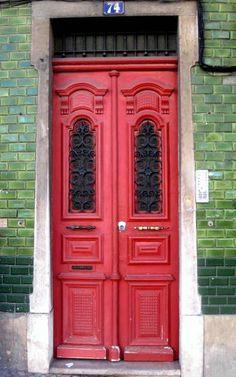 Red Door, Lisbon, Portugal