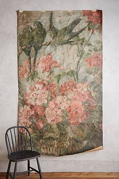Petrichor tapestry tapestries anthropologie and i love for Anthropologie wallpaper mural