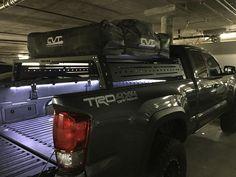 tacoma bed rack