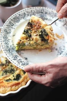 quiche sliced for you!