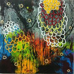 "Artist Paco Celorrio; Painting, ""wt"""