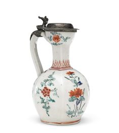 A Small Kakiemon Ewer with Silver Cover Christie's Japanese Art at the English Court