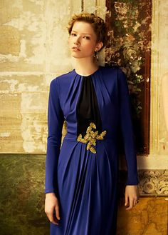 MANGO - CLOTHING - New Evening Collection - Dresses - Long dress with leaves