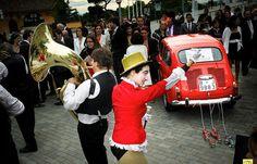 La boda de Lucía » Ideas para que tu boda sea un éxito » Una boda con ambiente circus…