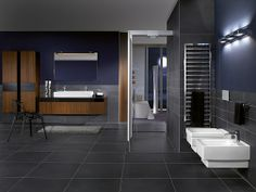 villeroy and boch metallic vanity - Google Search
