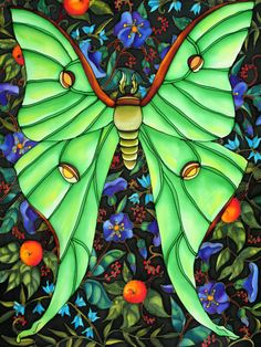 Vibrant paintings and dynamic performance of Holly Carr Painting Lamps, Silk Painting, Glass Butterfly, Silk Art, Canadian Art, 4k Hd, Rainbow Colors, Bright Colors, Embroidery Applique