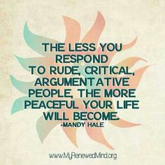 It's true, soooooo peaceful