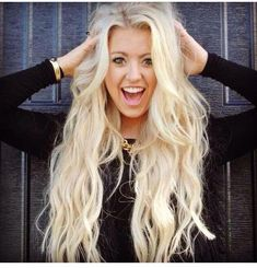 I want my hair like this, just not as blonde