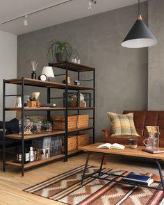 Living Room Grey, Small Living Rooms, Living Room Interior, Room Design Bedroom, Interior Decorating, Interior Design, Japanese House, Best Interior, Small Apartments