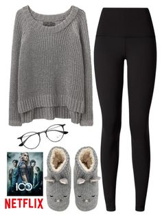 """1210."" by asoul4 ❤ liked on Polyvore featuring rag & bone/JEAN, lululemon and Ray-Ban"