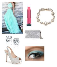 """Prom"" by alpha16 ❤ liked on Polyvore featuring Lauren Lorraine, BCBGMAXAZRIA, Almay and Marchesa"