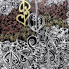 Wairua painting by Tracey Tawhiao