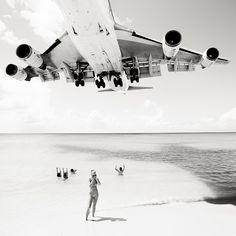 遊ぶのも命がけのビーチがカリブ海の島にあるという(画像)