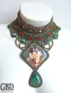 "Variations on A.Muha ""Emerald"""