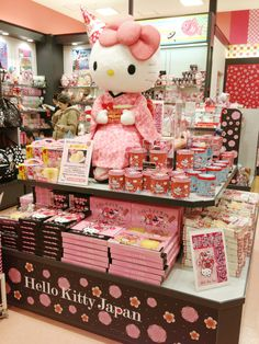 Go to Hello Kitty Store Japan @ Tokyo Solamachi. Everything that a Hello Kitty fan would dream to see can be found in this paradise in Tokyo Solamachi, found at Tokyo Skytree! Tokyo Japan Travel, Go To Japan, Visit Japan, Japan Trip, Tokyo Map, Tokyo City, Osaka Japan, Hello Kitty Store, Kawai Japan