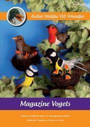 Magazine 6 Vogels  Atelier Vrolijke Vilt Vriendjes