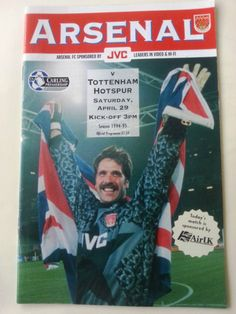 Arsenal v Tottenham Hotspur (Spurs) Football Programme Premiership 29/04/1995 Listing in the Premiership Fixtures,1992-2004,League Fixtures,English Leagues,Football (Soccer),Sports Programmes,Sport Memorabilia & Cards Category on eBid United Kingdom