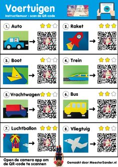 Children& Book Week 2019 - Digital tips for the Travel along theme! with Vehicles - MeesterSander. Preschool Crafts, Diy Crafts For Kids, Children's Book Week, Learn Dutch, Computational Thinking, Ipad, Small Space Interior Design, 21st Century Skills, Raising Boys