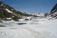 Rochilles (France) Savoie. Valloire, heading for Refuge des Drayères