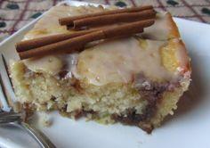 Cinnomon Bun Cake - Mennonite Girls Can Cook