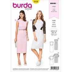 Gratuit UK p/&p New Look Femmes sewing pattern 6431 robes en 5 styles wit...