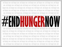 #EndHungerNow #TakeYourPlace #Hunger #APlaceAtTheTable