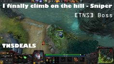 Dota 2 Sniper get on the hill
