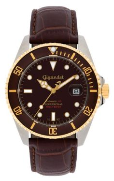 Gigandet SEA GROUND - Men's Sports Diver watch 300m - Automatic - brown dial - with date display and genuine leather strap - G2-019 Gigandet http://www.amazon.co.uk/dp/B00KIWRQMK/ref=cm_sw_r_pi_dp_SrK6ub0G4X1FP