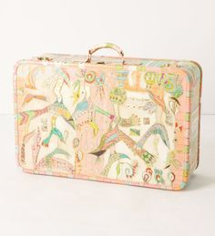 beyond the quarter painted suitcase by gretchen weller howard http://www.sorengallery.com/howard_downlow.html