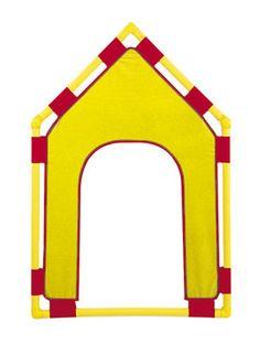 """CF900-523Y Gable Door Yellow, 48""""L x 31""""W"""