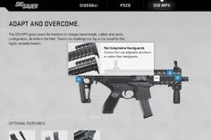 SIG Sauer launches new website showcasing features of MPX, and - GAT Daily (Guns Ammo Tactical) Sig Mpx, Sig Sauer, Sig Sg 550, You Magazine, Modular Design, Guns And Ammo, Scorpion, Tactical Gear, Evo