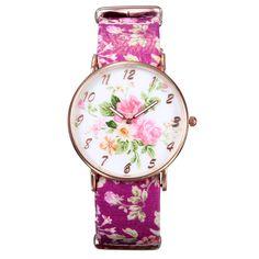 Butterfly Watch, Butterfly Leather Watch