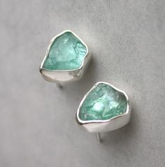 Aqua Blue Apatite earrings. I adore these. Earrings are my favorite piece of jewelry...other than rings.