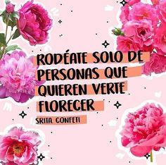 Rodeate de personas que solo quieran verte florecer Feliz domingo . . . . #girls #moda #frases #chile #canva #pink #sunday #colors #boutique #españa #love #girl #fashion #positive #bag #mochilas